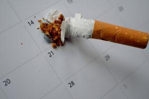 Nichtraucher stop-smoking